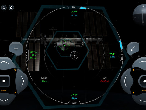 Try to dock with the International Space Station with this SpaceX Crew Dragon simulator