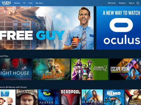 Vudu brings its TV and moviestreamingapp to Facebook's Oculus VR devices