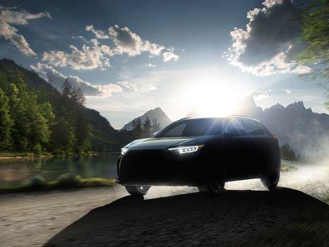 Subaru teases its first electric car, the Solterra EV