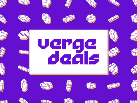 Verge Deals is our biweekly newsletter filled with tech sales and exclusive deals