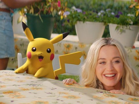 Katy Perry's new music video stars her BFF Pikachu