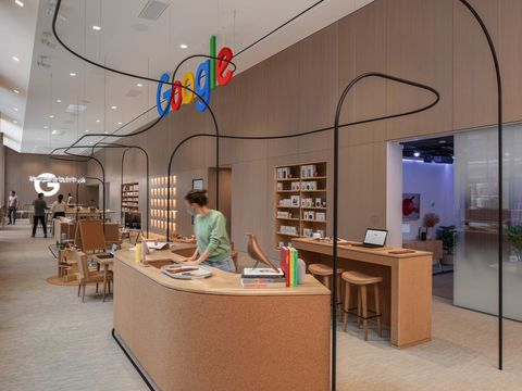 Google's first retail store opens this week