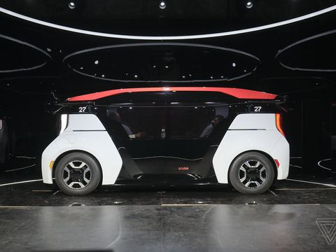 Cruise starts pre-production of its autonomous shuttle thanks to $5 billion from GM