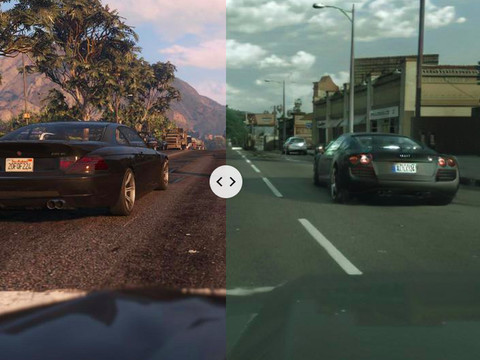 Intel is using machine learning to make GTA V look incredibly, unsettlingly realistic