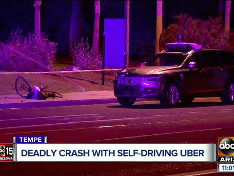 Uber backup driver charged in fatal 2018 self-driving car crash