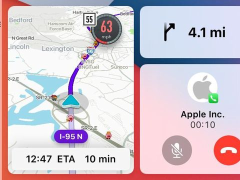 Waze will soon support CarPlay's split-view dashboard mode