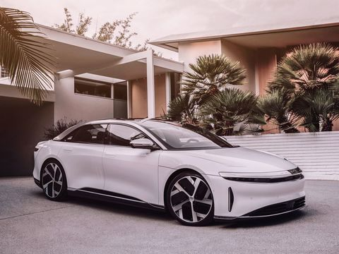 The Lucid Air is a luxury electric sedan with the speed and power to rival Tesla