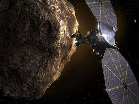 NASA is sending a spacecraft on a 12-year journey to explore swarms of asteroids around Jupiter