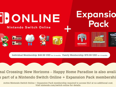 Nintendo Switch Online's N64 and Sega Genesis 'expansion pack' launches October 25th for $49.99 per year