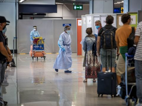 Rome airport to allow passengers from the US to skip quarantine