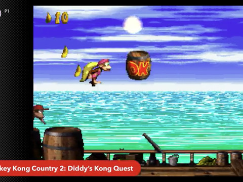 The next Nintendo Switch Online games include Donkey Kong Country 2