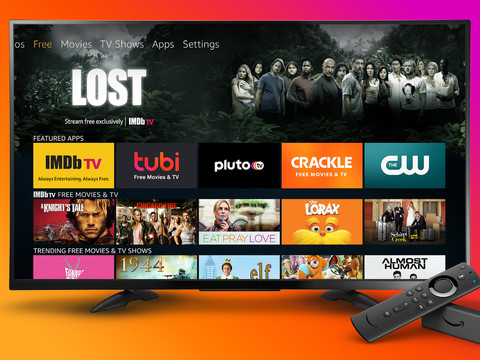 Amazon adds a new 'free' section to Fire TV main menu