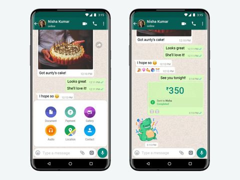 WhatsApp finally begins rolling out payment service in India