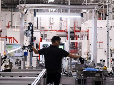 Tesla reopens Nevada Gigafactory after bringing California car plant back online