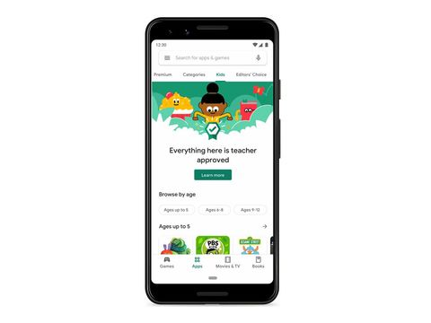 Google Play is getting a new Kids section filled with 'Teacher Approved' apps