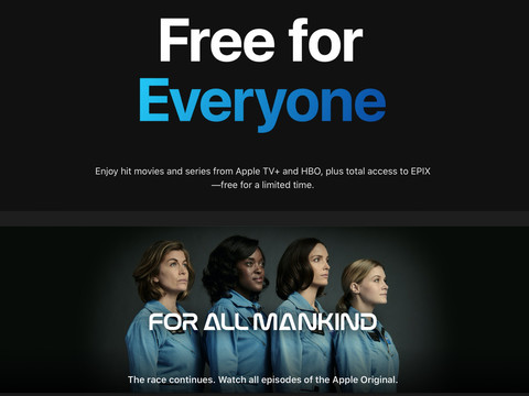 Apple giving away free original TV shows