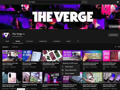 YouTube's desktop site is now more touchscreen-friendly