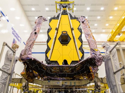 NASA's massive next-generation space telescope arrives in South America ahead of launch
