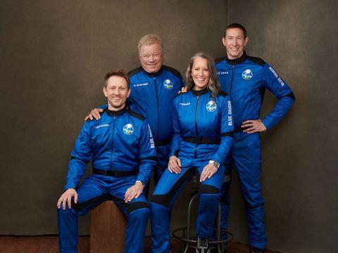 Watch William Shatner fly to space on Blue Origin's tourist rocket
