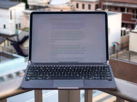 Brydge's excellent iPad Pro keyboards are $50 off at Best Buy