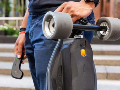 Boosted board riders turn to each other after the company's collapse