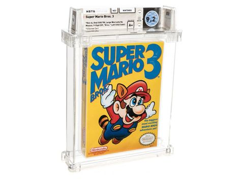 A different Super Mario Bros. game now holds the title for most expensive ever sold