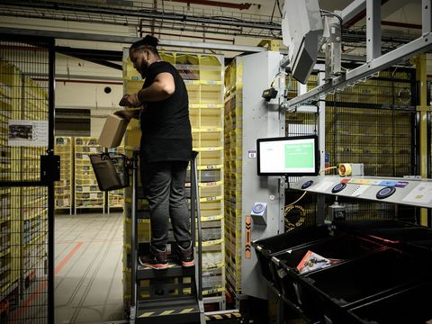 Amazon expands gamification program that encourages warehouse employees to work harder