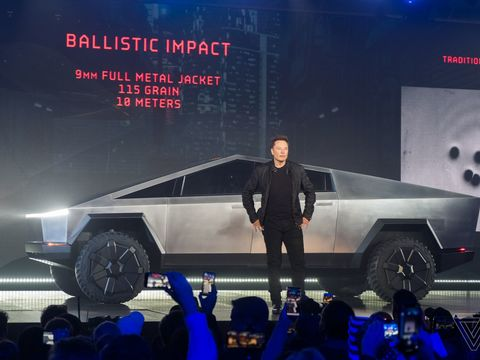 Elon Musk holds a 'bake-off' for a new factory