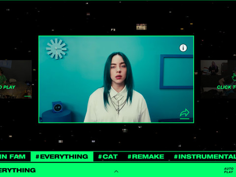 YouTube tests whether you'll ever get sick of Bad Guy with an endless Billie Eilish mashup
