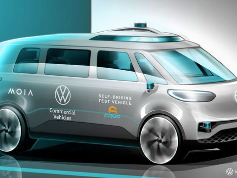 VW will start testing its Argo AI-powered self-driving vans in Germany this summer
