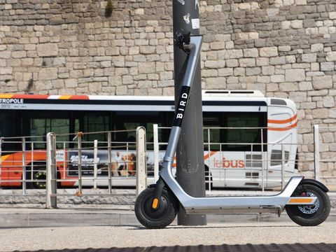 Bird's scooters will now emit annoying beeps when you drive on the sidewalk