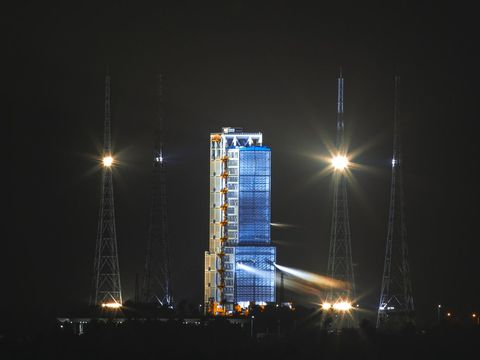 China launches ambitious mission to bring back samples from the Moon