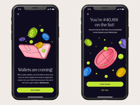 Robinhood's crypto wallets are finally ready for a test run