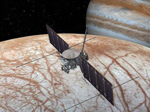 NASA's Europa Clipper will fly on SpaceX's Falcon Heavy