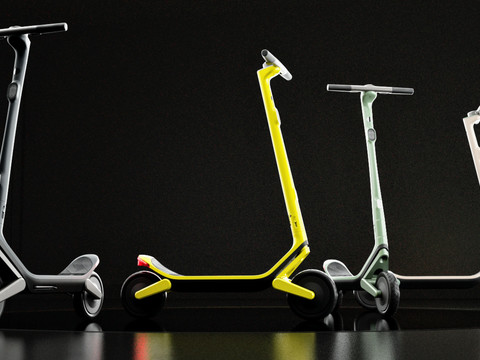 Unagi reveals 'Model Eleven,' an electric scooter that plays music, avoids potholes, and looks incredible