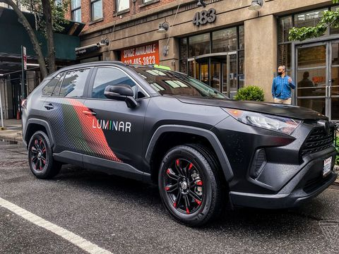 Luminar is using lidar to help build the 'uncrashable car'
