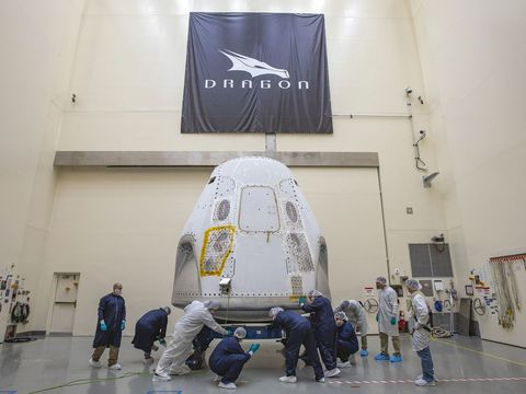 How theSpaceXCrew Dragon mission could shape the future of commercialspace