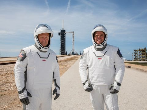 Here's what to expect asSpaceXlaunches its first human crew tospace