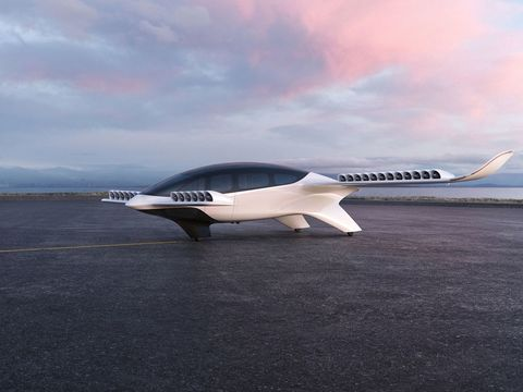 Flying taxi startup Lilium goes public via SPAC, unveils its new electric aircraft