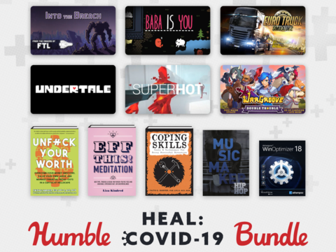 New Humble Bundle offers a lot of great games to raise money for COVID-19 relief