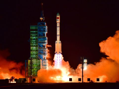 China celebrates safe landing of secretive spacecraft as 'important breakthrough'