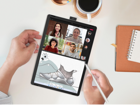 HP's new 11-inch tablet has a flipping webcam