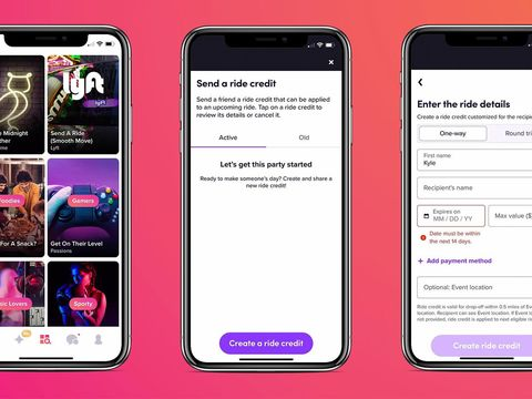Tinder and Lyft partner so you can send your match a ride for an IRL date