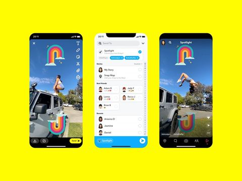 Snapchat officially launches in-app TikTok competitor called Spotlight